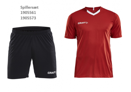 T-shirt og shorts